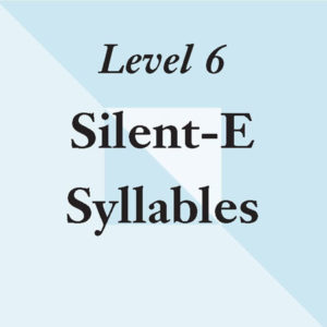Level 6: Six Reasons for Silent-E – No Tiles